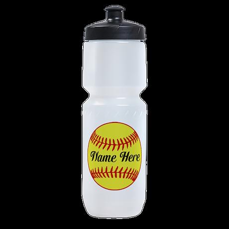 Personalized Softball Sports Bottle