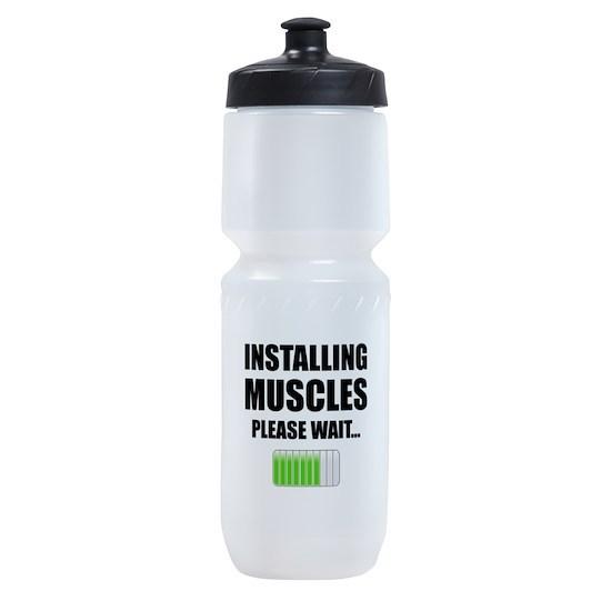 Installing Muscles Please Wait