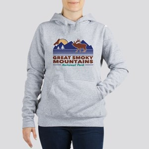 Great Smoky Mountains Women's Hooded Sweatshirt