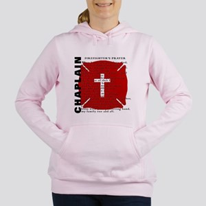 Women's Hooded Sweatshirt Fire Chaplain
