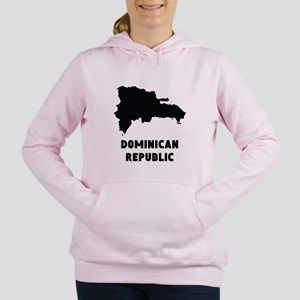 Dominican Republic Silhouette Women's Hooded Sweat