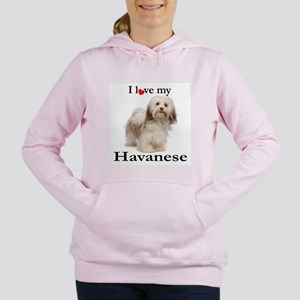 Love My Havanese Women's Hooded Sweatshirt