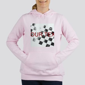 Checkered Flag Women's Hooded Sweatshirt