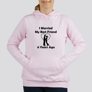 I Married My Best Friend Women's Hooded Sweatshirt