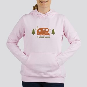 Rather Be Camping C3 Women's Hooded Sweatshirt
