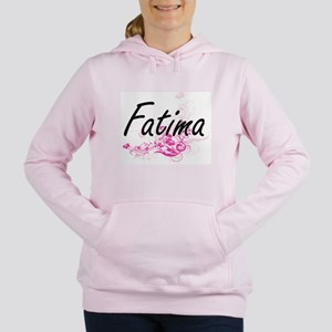 Fatima Artistic Name Des Women's Hooded Sweatshirt