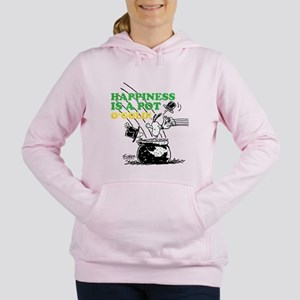 Happiness is a Pot o' Gold Women's Hooded Sweatshi