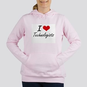 I love Technologists Women's Hooded Sweatshirt