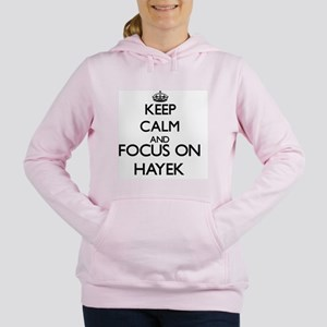 Keep calm and Focus on H Women's Hooded Sweatshirt