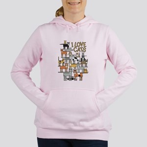 3ebd02738 I Love Cats Sweatshirts & Hoodies - CafePress