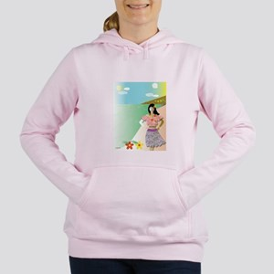 Flamingflamingos Women's Hooded Sweatshirt
