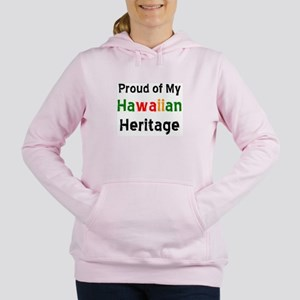 hawaiian heritage Women's Hooded Sweatshirt