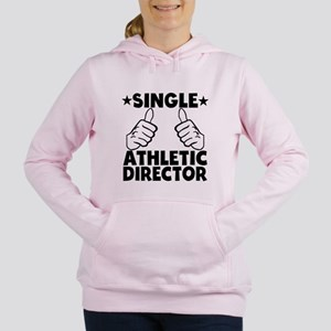 Single Athletic Director Women's Hooded Sweatshirt