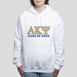 Alpha Kappa Psi Class of Women's Hooded Sweatshirt