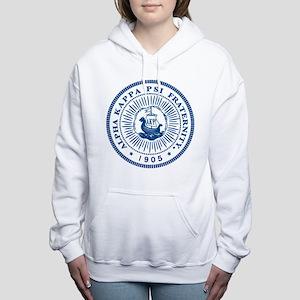 Alpha Kappa Psi Logo Women's Hooded Sweatshirt