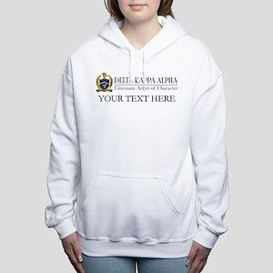 Delta Kappa Alpha Logo P Women's Hooded Sweatshirt
