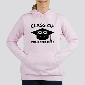 Class of XXXX Personaliz Women's Hooded Sweatshirt