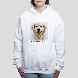 Dog Photo Customized Women's Hooded Sweatshirt