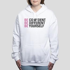 Be Confident Women's Hooded Sweatshirt