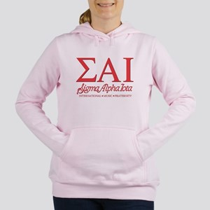 Sigma Alpha Iota Letters Women's Hooded Sweatshirt