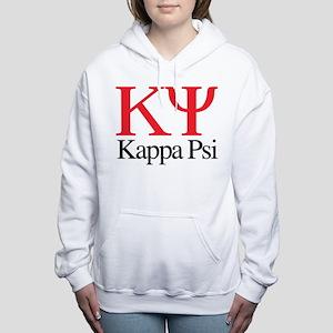 Kappa Psi Letters Women's Hooded Sweatshirt