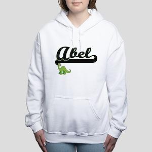 Abel Classic Name Design Women's Hooded Sweatshirt