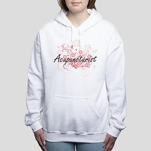 Acupuncturist Artistic J Women's Hooded Sweatshirt