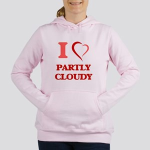 I love Partly Cloudy Sweatshirt