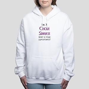 choir singer Women's Hooded Sweatshirt