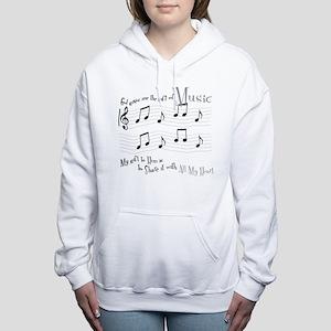 Gift of Music #1 Women's Hooded Sweatshirt