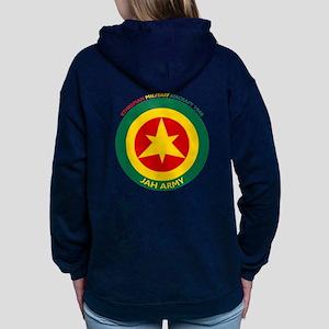 Brown Condor & Lion of J Women's Hooded Sweatshirt