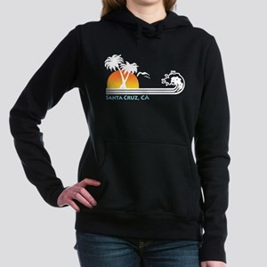 Santa Cruz California Women's Hooded Sweatshirt