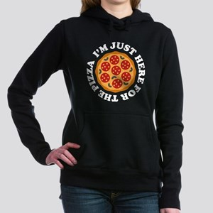 I'm Just Here For The Pizza Hooded Sweatshirt