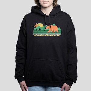 Adirondack Mountains NY Women's Hooded Sweatshirt