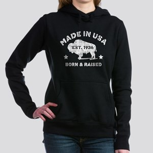 Made In USA 1936 Women's Hooded Sweatshirt