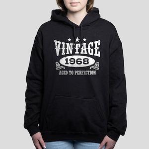 Vintage 1968 Women's Hooded Sweatshirt