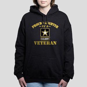 Proud Daughter of a US A Women's Hooded Sweatshirt