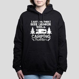 Beer Drinker Camping Hooded Sweatshirt