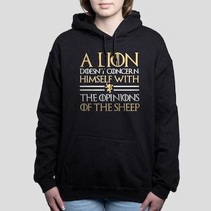 Opinions Of The Sheep Hooded Sweatshirt