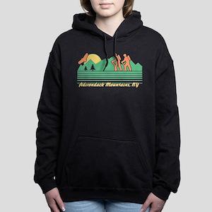 Hike Adirondack Mountain Women's Hooded Sweatshirt