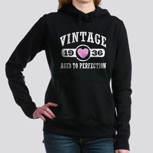 Vintage 1936 Women's Hooded Sweatshirt