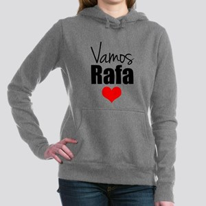 Vamos Rafa Love Women's Hooded Sweatshirt