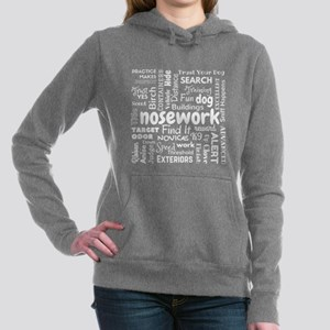 Fun With Nosework Words Sweatshirt