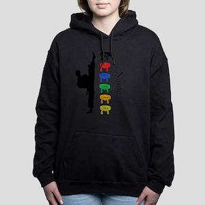 Karate Women's Hooded Sweatshirt