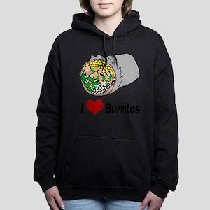 I heart burritos Women's Hooded Sweatshirt