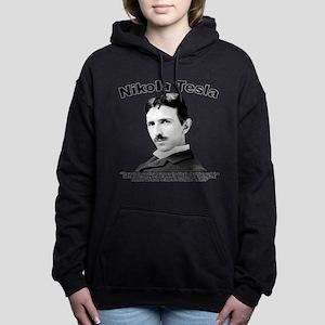 Tesla: Religion Women's Hooded Sweatshirt