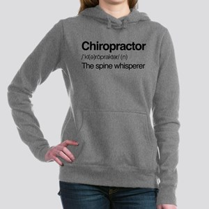 Chiropractor The Spine W Women's Hooded Sweatshirt