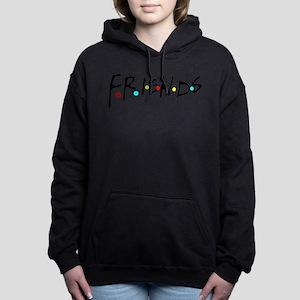 friendstv logo Women's Hooded Sweatshirt
