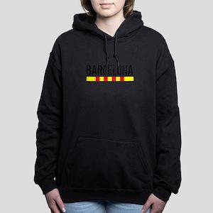 Catalunya: Barcelona Women's Hooded Sweatshirt