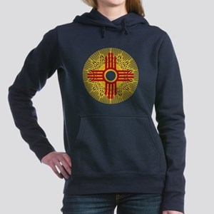 SUNBURST ZIA Women's Hooded Sweatshirt